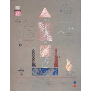 KRAUPE-ŚWIDERSKA JANINA, Dyplom z emblematami, 1983