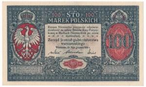 100 marek 1916 Jenerał - RZADKOŚĆ - najlepiej zachowany egzemplarz