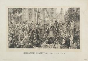 Jan Matejko (1838 - 1893), Ogłoszenie Konstytucji 3-go Maja 1791 r.