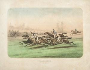 Victor Jean Adam (1801 - 1866), Meta (Finisz wyścigu koni), ok. 1830 r.