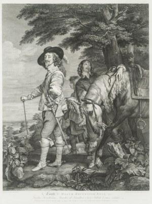 Robert Strange (1721 - 1792), Portret Karola I, króla Anglii 1782 r.