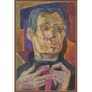 Marian Malina (1922 - 1985), Autoportret podwójny, 1963 r.