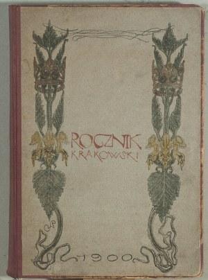 """Stanisław Wyspiański (1869 - 1907), Okładka """"Rocznika Krakowskiego"""", 1900 r."""
