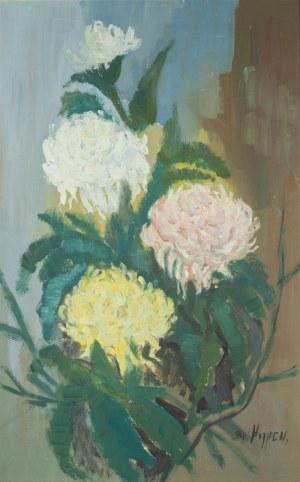 Aso Hansen (1862 - 1929), Chryzantemy, ok. 1925 r.
