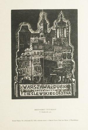 Tadeusz Cieślewski - Syn( 1895 - 1944), Warszawa - Puck