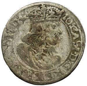 Jan II Kazimierz, Szóstak Bydgoszcz 1664 AT - IO CASI