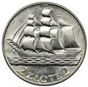 Gdynia Seaport, 2 zloty 1936