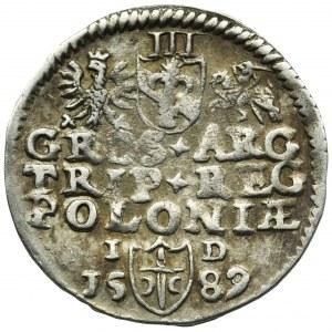 Sigismund III Vasa, 3 Groschen Olkusz 1589