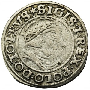 Sigismund I the Old, Groschen Danzig 1539 - PRVS