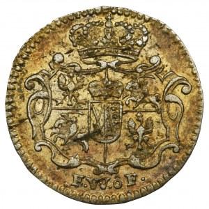 Augustus III of Poland, 1/48 Thaler Dresden 1736 FWôF