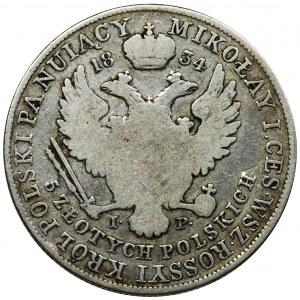 5 zloty Warsaw 1834 IP
