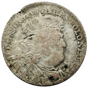August III Sas, Ort Lipsk 1754 EC Efraimek - duże popiersie
