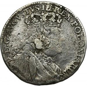 August III Sas, Ort Lipsk 1754 EC - 9 liści