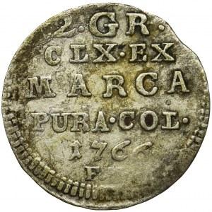 Poniatowski, Półzłotek 1766 FS