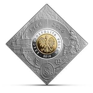5 złotych 2016 - 250 - Lecie Mennicy Warszawskiej