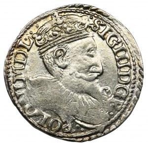 Zygmunt III Waza, Trojak Olkusz 1597 - interpunkcja
