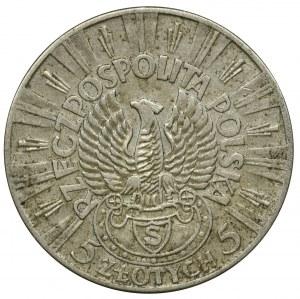 Piłsudski Strzelecki, 5 złotych 1934