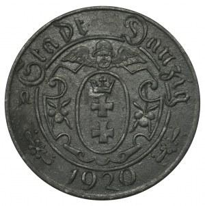 Danzig 10 pfennig 1920 - 57 beads