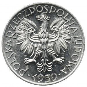 Rybak, 5 złotych 1959