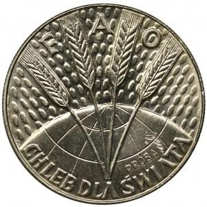 PRÓBA, 10 złotych 1971 FAO - Chleb dla świata