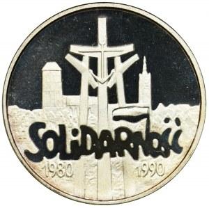 100.000 złotych 1990 - Mała Solidarność - lustrzanka