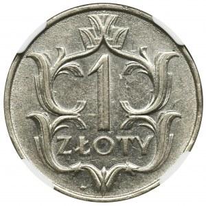 1 złoty 1929 - NGC AU58