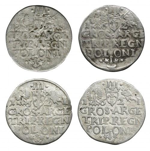 Zestaw, Trojaki (4 szt.)