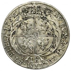 August III Sas, Ort Lipsk 1756 EC Efraimek