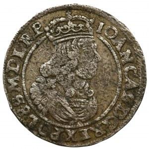 Jan II Kazimierz, Szóstak Bydgoszcz 1664 AT
