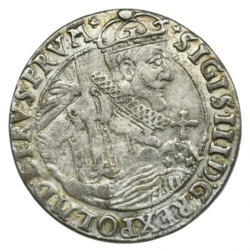 Sigismund III Vasa, 1/4 Thaler Bromberg 1623 - rare