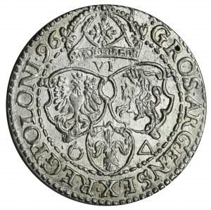 Sigismund III Vasa, 6 groschen Marienburg 1696