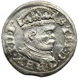 Stefan Batory, Trojak Ryga 1586