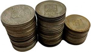 Coin Lot of postwar silver Polish coins