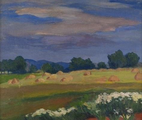 Vlastislav [sic!] HOFMAN (1884-1964), Pejzaż