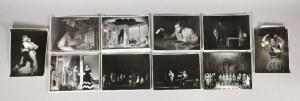 E. HARTWIG, H. JURKO, S. DUKIEWICZ  [Centrala Obsługi Przedsiębiorstw i Instytucji ...], Zestaw 10 fotografii z wizerunkami aktorów
