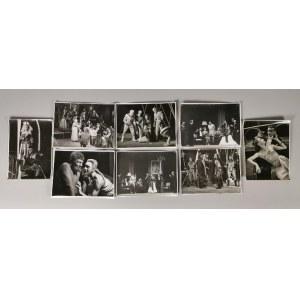 Edward HARTWIG (1909-2003), Franciszek MYSZKOWSKI (1913-1971), Zestaw 20 fotografii z wizerunkami aktorów