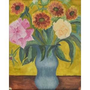Leonard PĘKALSKI (1896-1944), Kwiaty w wazonie, 1937