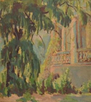 Paweł Stefan KALIŃSKI (1892-1948), Studium ogrodu w słońcu, 1943