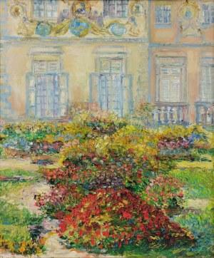 Maria DZIOPAK (ur. 1954), Ogród w Wilanowie