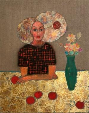 Bartosz Frączek, Dziewczyna z jabłkami, 2020