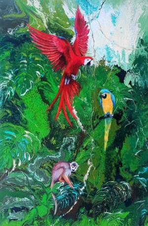 Patrycja Kruszyńska-Mikulska, Green Paradise, 2020