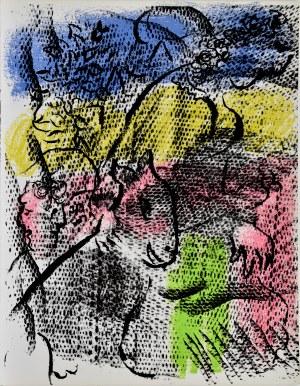 Marc Chagall (1887 - 1985), Kobieta z kozą