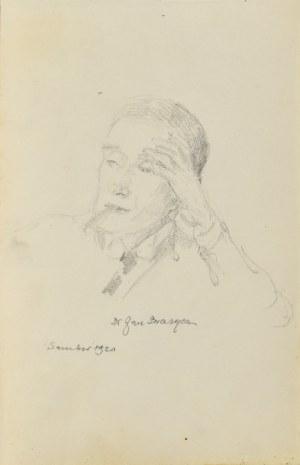 Józef Pieniążek (1888-1953), Portret mężczyzny, 1920