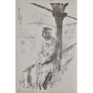 Zdzisław Czermański (1900-1970), Józef Piłsudski na Wawelu