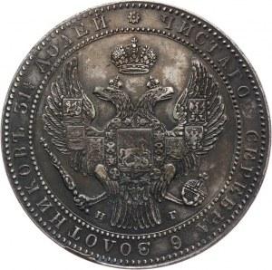 Zabór Rosyjski, Mikołaj I 1825-1855, 10 złotych - 1 1/2 rubla 1836 НГ, Petersburg