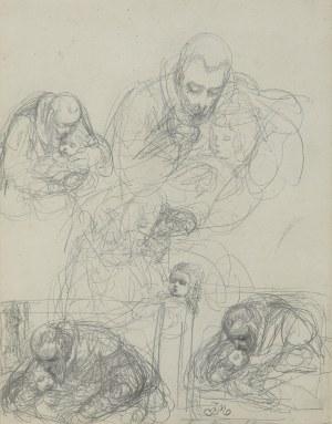 Matejko Jan, JAN KOCHANOWSKI Z URSZULKĄ, 1861-1862
