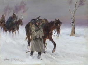 Kossak Jerzy, W ZADYMCE, 1934
