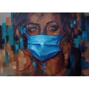 Marzena Hettich-Uryszek, Pandemic Girl, 2020