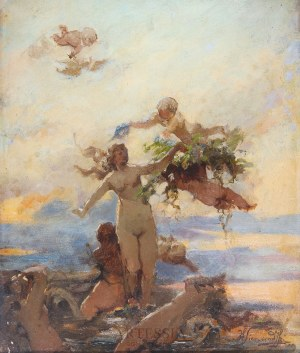 Henryk Siemiradzki (1843-1902), Narodziny Wenus (Nimfy wodne), lata 1880-te