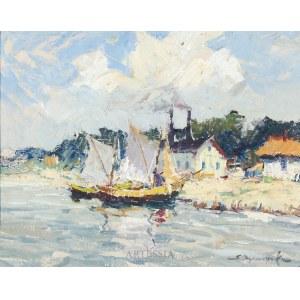Eugeniusz Dzierżencki (1905-1990), Powrót do portu